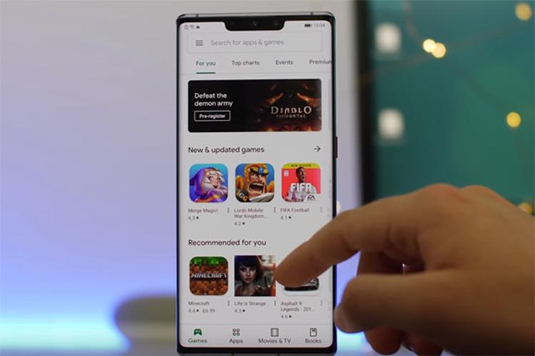Huawei P40 se la smartphone dau tien chay Harmony OS?