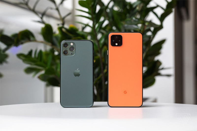 Pixel 4 la smartphone Android giong iPhone nhat-Hinh-3
