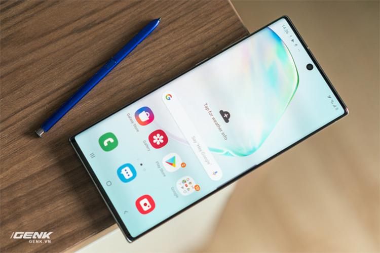 Samsung cap nhat bao mat van tay cho Galaxy S10 va Note 10