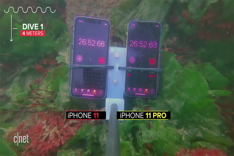 Thu kha nang chong nuoc cua dien thoai iPhone 11-Hinh-2