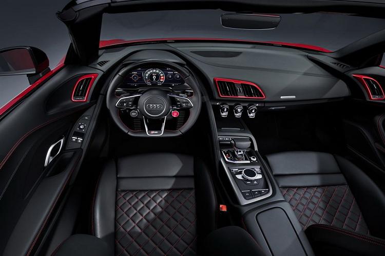 Sieu xe Audi R8 2020 dan dong cau sau tu 3,8 ty dong-Hinh-7