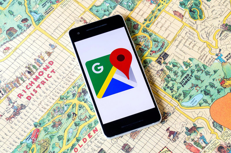 Cach bat tat che do an danh Google Maps danh cho Android
