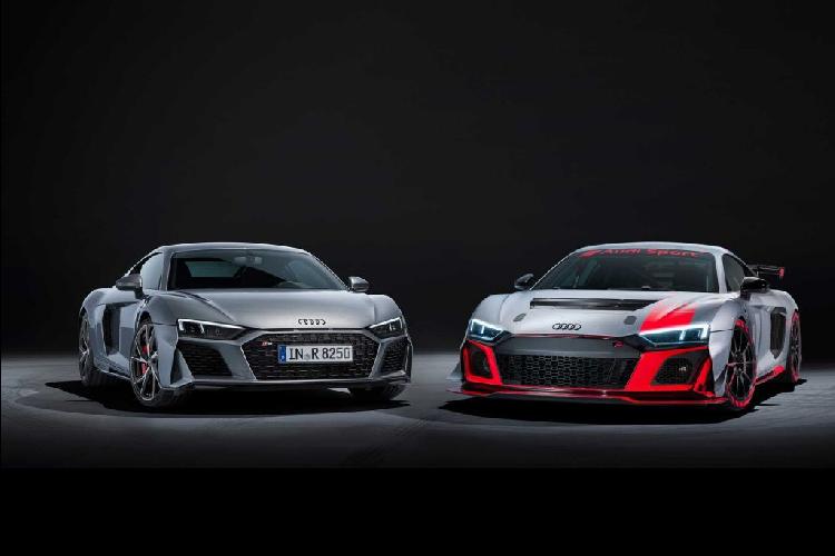 Ngam phien ban dua LMS GT4 cho sieu xe Audi R8 V10