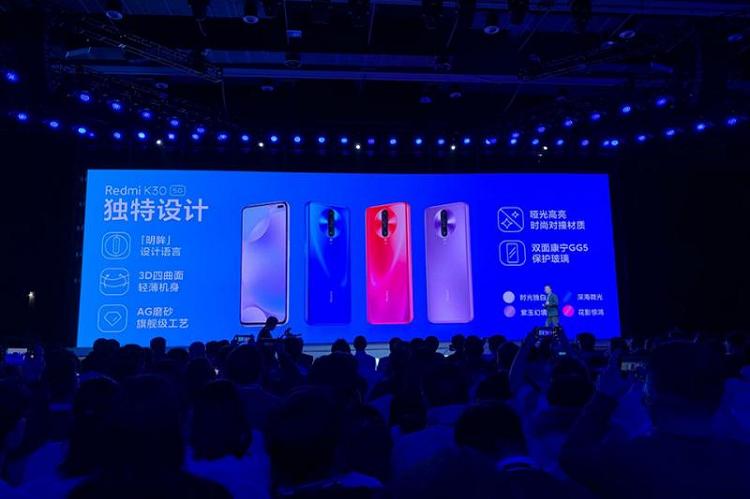 Gia ban Redmi K30 5G da tiem can chi phi san xuat cua Xiaomi