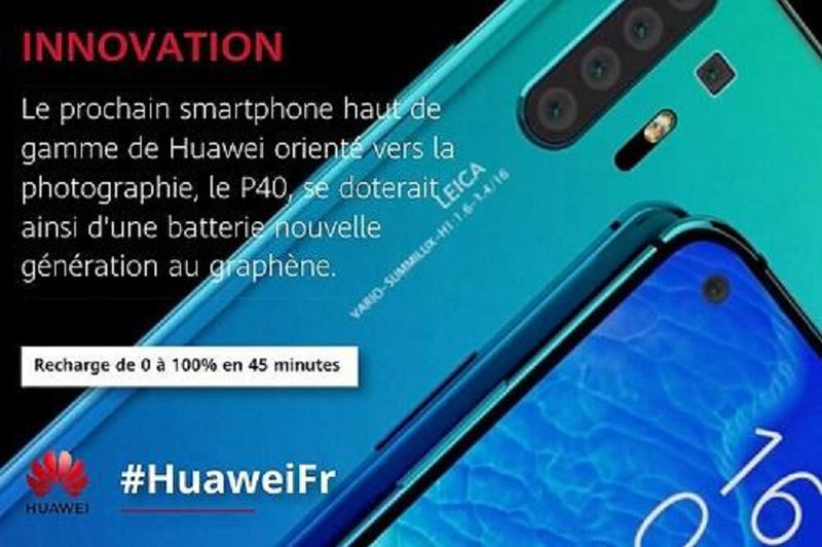 Huawei P40 Pro sac pin tu 0% den 100% chi trong 45 phut