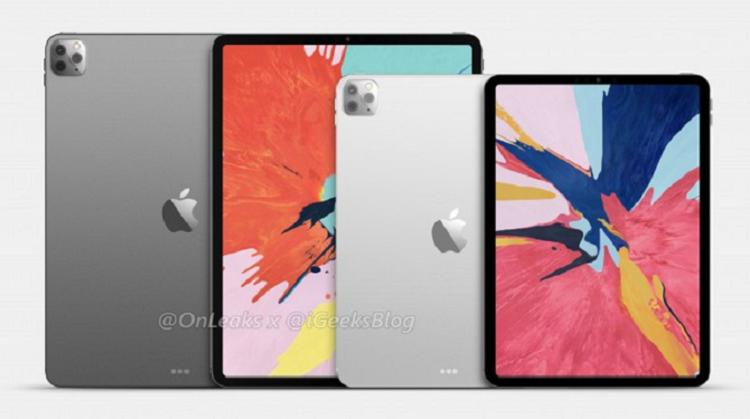 Ro ri bo doi iPad moi voi camera sau giong iPhone 11 Pro