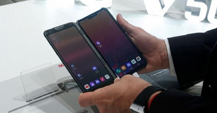 LG se gioi thieu smartphone 5G V60 ThinQ tai MWC