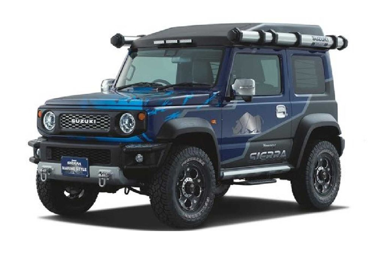 "Suzuki Swift Sport Widebody sap ""do bo"" Tokyo Auto Salon 2020-Hinh-2"
