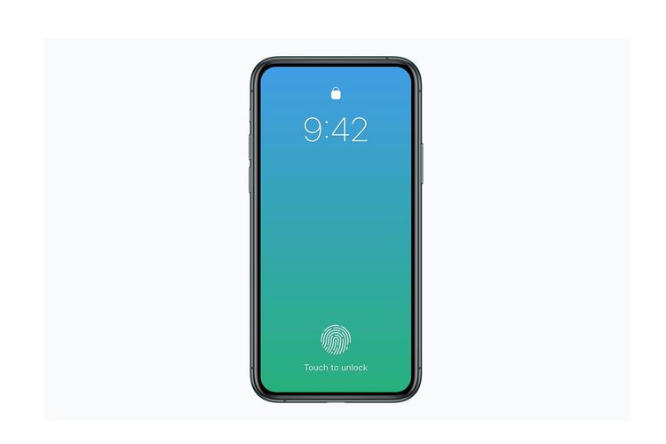 "iPhone 2020 se khong co ""tai tho"", kem touch ID duoi man hinh-Hinh-2"