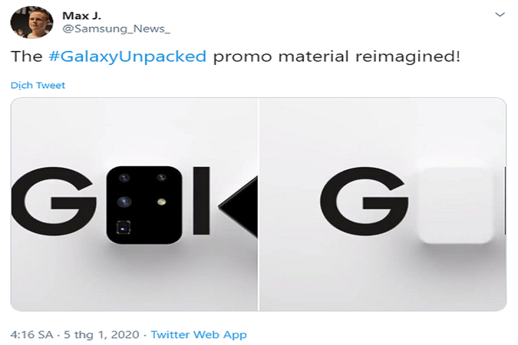 Samsung noi gi ve su ra mat cua Galaxy S11 ngay sau Tet?