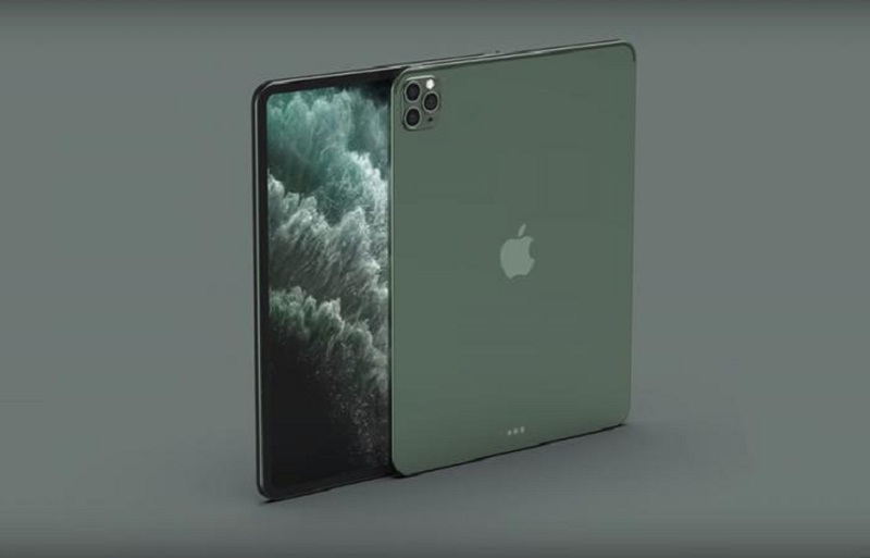 Sung sot anh render he lo dien mao cua iPad Pro 2020-Hinh-2