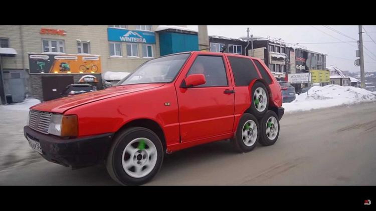 Dan choi Nga tu che xe hatchback Fiat Uno 8 banh-Hinh-2