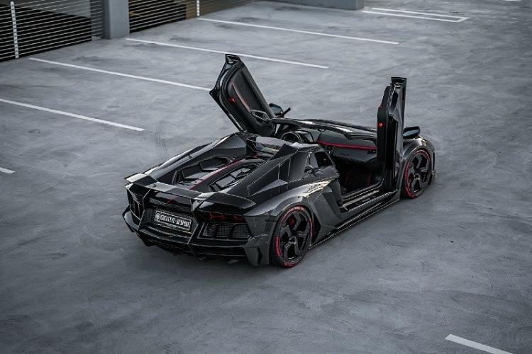 Lamborghini Aventador phong cach may bay tang hinh tu Mansory-Hinh-3