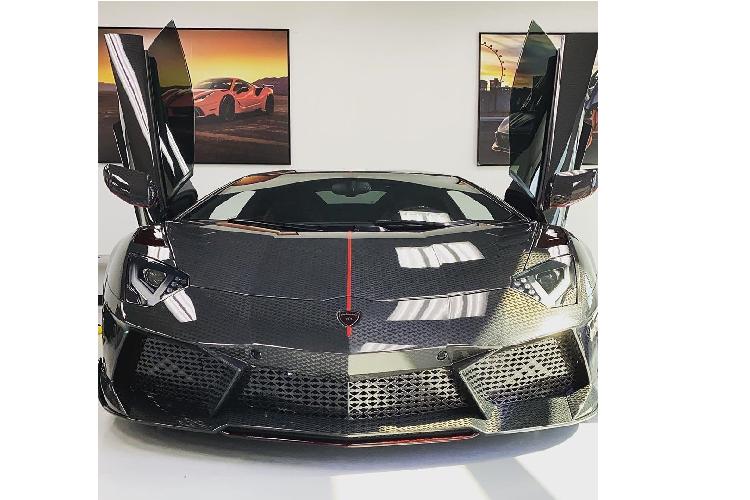 Lamborghini Aventador phong cach may bay tang hinh tu Mansory-Hinh-8