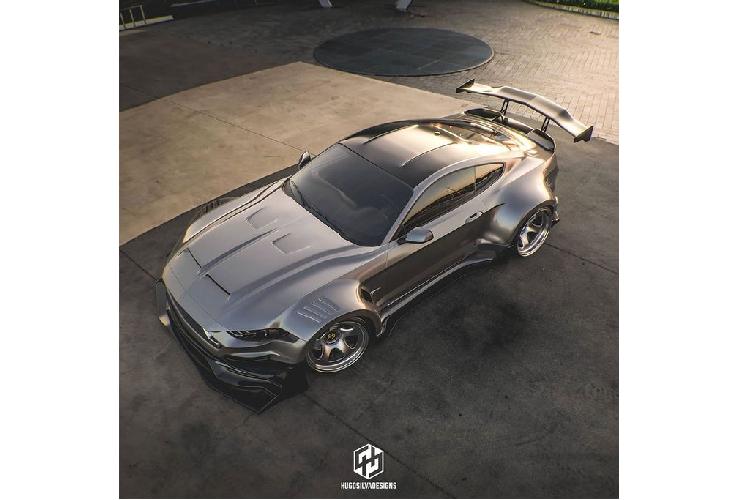 """""""Ho mang chua"""" Ford Mustang Shelby khoac ao sieu to ham ho-Hinh-2"""