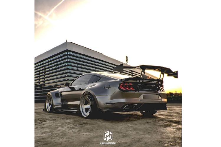 """""""Ho mang chua"""" Ford Mustang Shelby khoac ao sieu to ham ho-Hinh-3"""