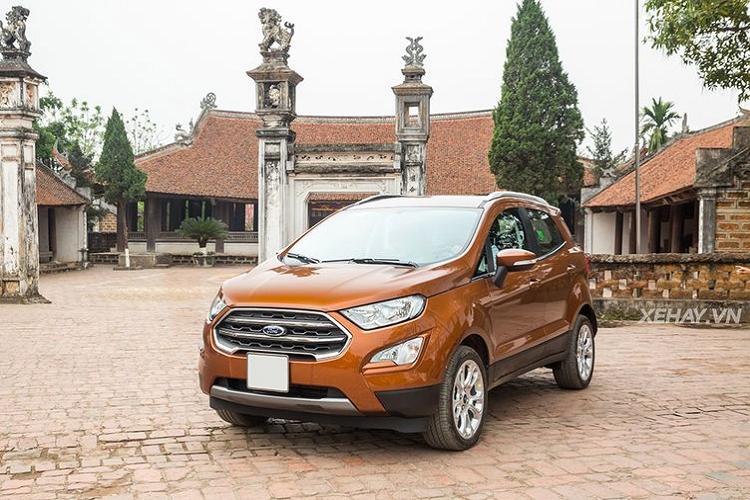 Ford EcoSport bat ngo giam toi 90 trieu dong tai Viet Nam