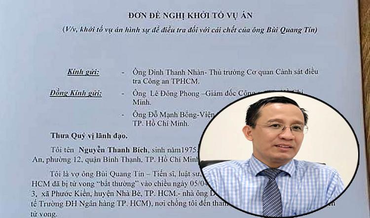 Tien si Bui Quang Tin roi lau tu vong: Gia han dieu tra