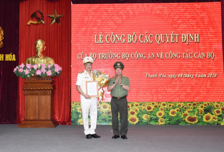 Pho Cuc truong A05 dam nhan vi tri Giam doc Cong an Thanh Hoa
