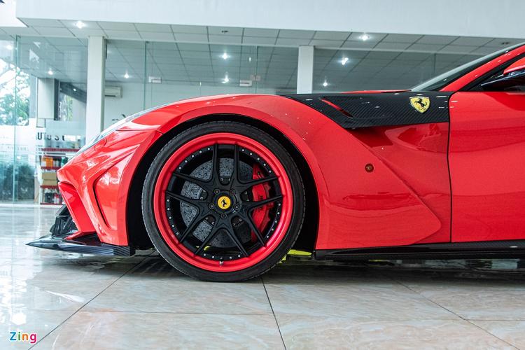 Sieu xe Ferrari F12 Berlinetta do 1 ty dong doc nhat Viet Nam-Hinh-5