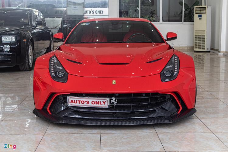 Sieu xe Ferrari F12 Berlinetta do 1 ty dong doc nhat Viet Nam-Hinh-8