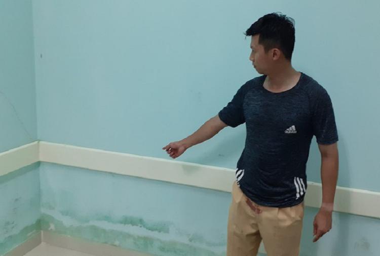 Trung uy CSGT bi nhom con do hanh hung tai benh vien