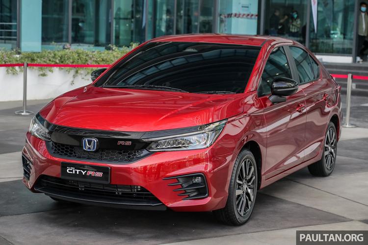 Honda City hybrid 2020 kem goi Sensing ra mat tai Malaysia