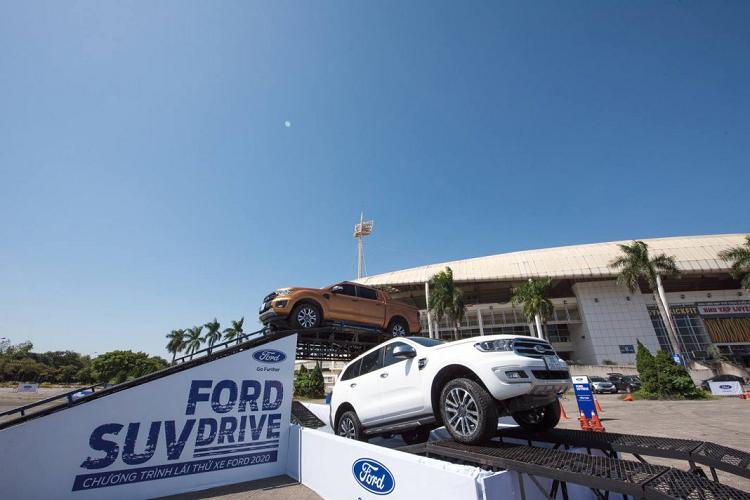 Ford SUV Drive 2020 – chuoi su kien lai thu tren toan quoc