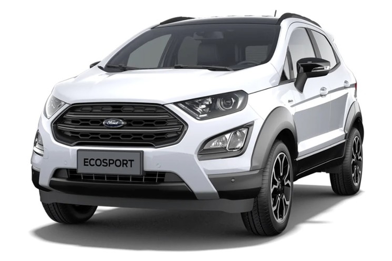 """SUV co B gia re Ford EcoSport Active 2021 """"lo hang"""""""
