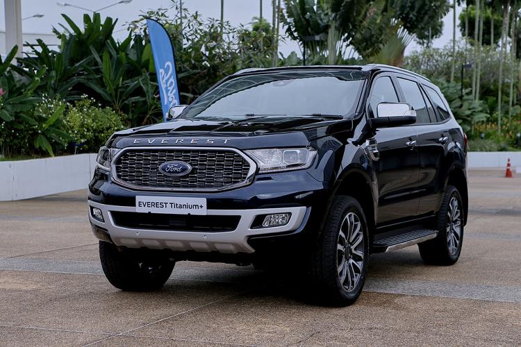 Ford Everest 2021 tu 968 trieu tai Thai Lan, sap ve Viet Nam