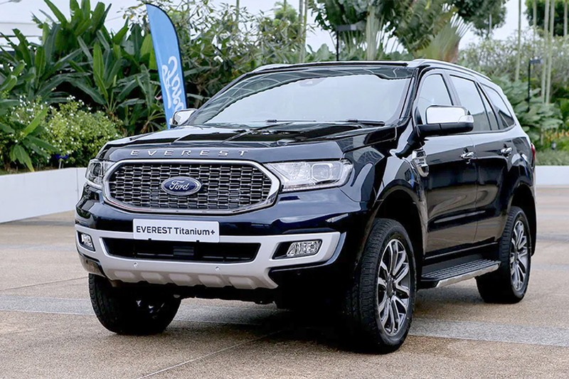 Ford Everest 2021 sap ve Viet Nam co gi de dau Toyota Fortuner?