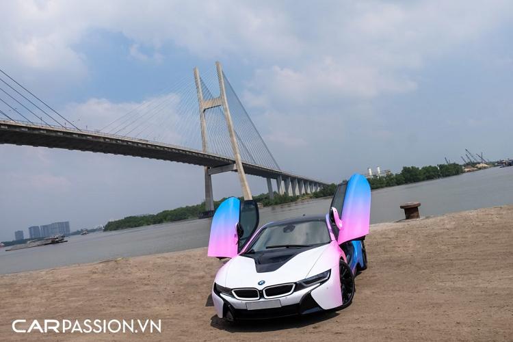 Sieu xe BMW i8 gia re phong cach an tuong o Sai Gon-Hinh-11