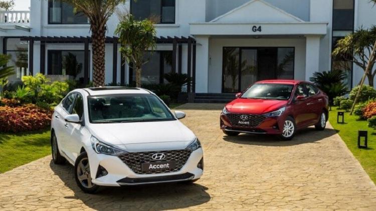 Boc gia lan banh Hyundai Accent 2021 moi vua ra mat
