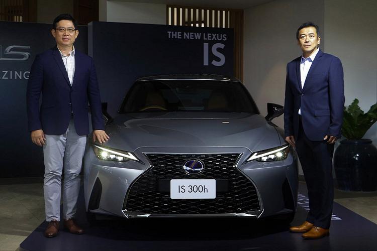 Lexus IS 2021 hon 2 ty dong tai Thai Lan, sap ve Viet Nam