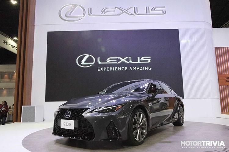 Lexus IS 2021 hon 2 ty dong tai Thai Lan, sap ve Viet Nam-Hinh-2