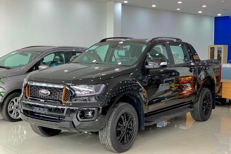 Can Tet, Ford Ranger Wildtrak 2021 ban thap hon gia de xuat-Hinh-2