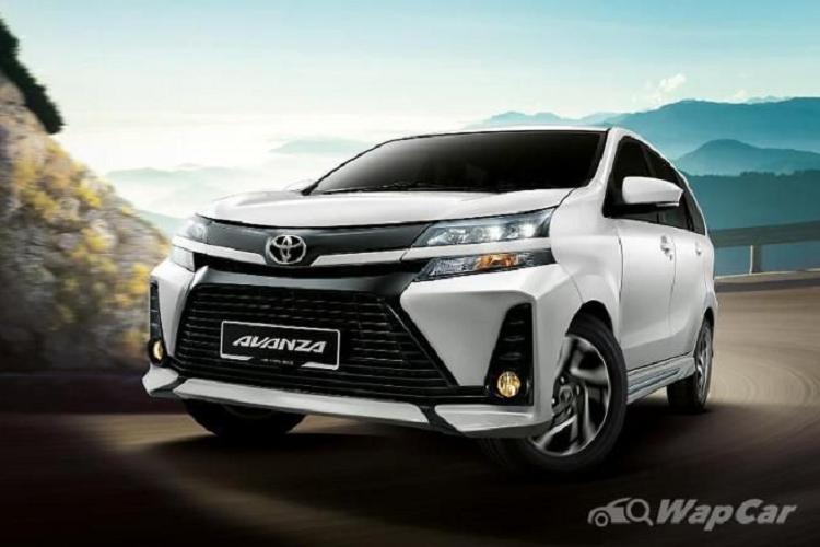 Toyota Avanza 2021 van dung RWD, bo dan dong cau truoc