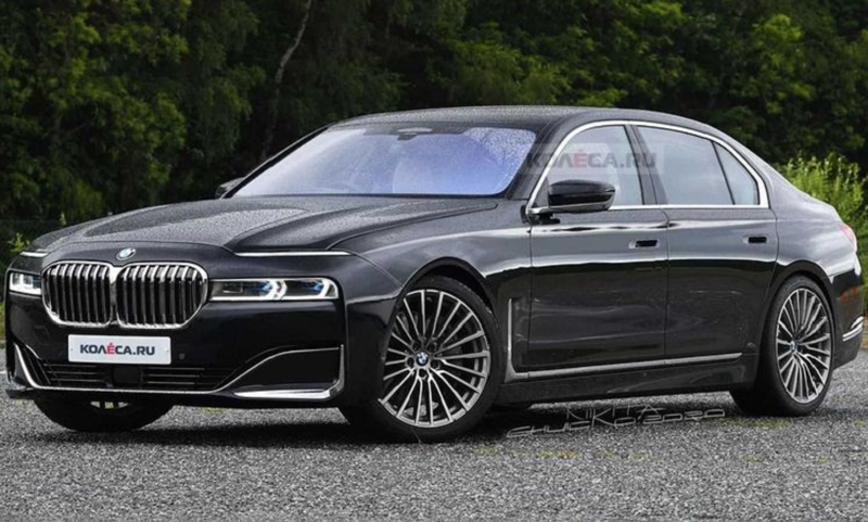 BMW 7 Series the he moi khong so huu luoi tan nhiet khong lo