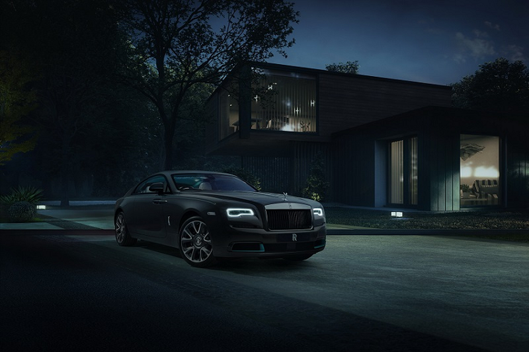 Rolls-Royce tiet lo manh moi giai ma xe sieu sang Wraith Kryptos