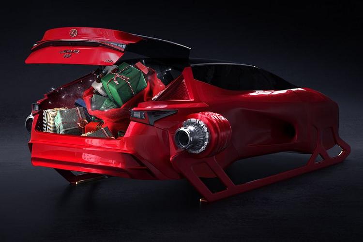 """Ngam """"Tuan loc"""" hang sang Lexus HX Sleigh Concept moi-Hinh-2"""
