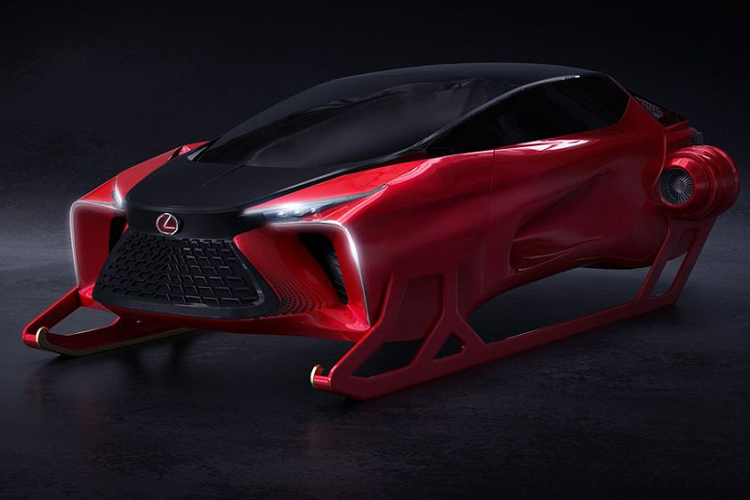 """Ngam """"Tuan loc"""" hang sang Lexus HX Sleigh Concept moi"""