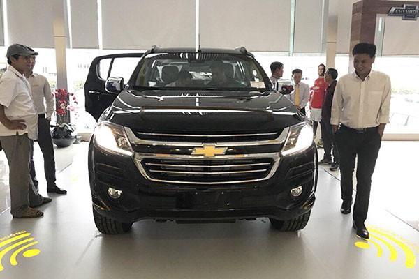 Chevrolet Trailblazer xả hàng tồn kho, giảm gần 300 triệu đồng