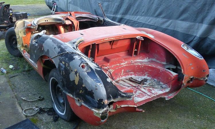 """""""Dong sat vun"""" Chevrolet Corvette 1958 thet hon 230 trieu dong-Hinh-3"""