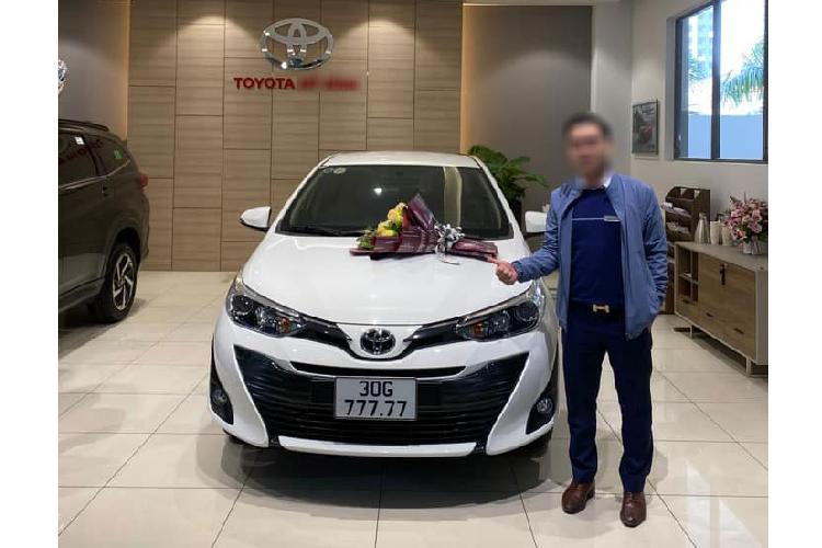 """Xe gia re Toyota Vios """"ngu quy 7"""" tai Ha Noi se co gia cao"""