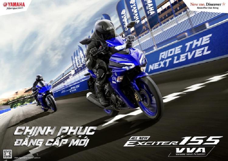 Yamaha Exciter 155 VVA 2021 tai Viet Nam - ong vua con tay moi-Hinh-3