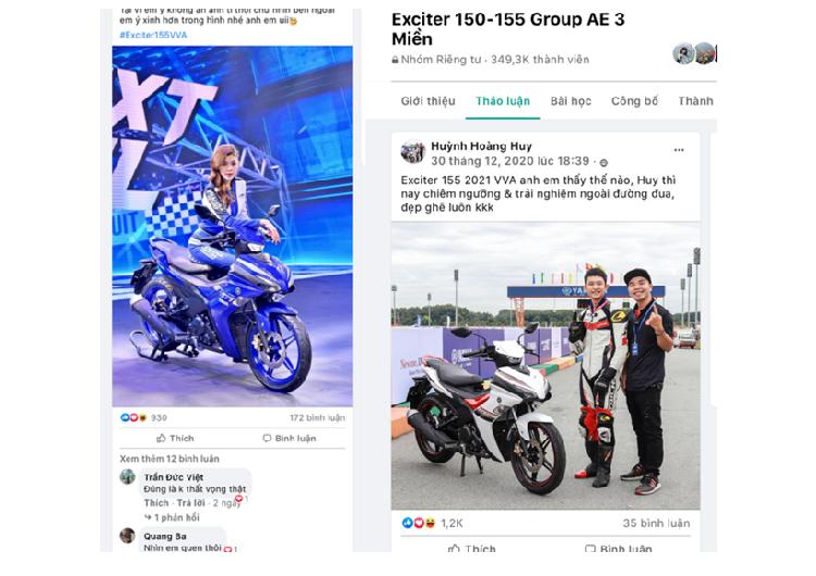 Yamaha Exciter 155 VVA 2021 tai Viet Nam - ong vua con tay moi-Hinh-4