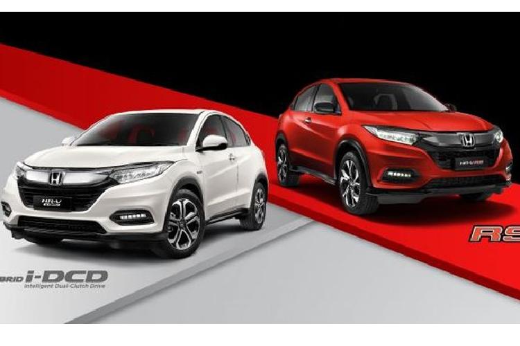 Honda HR-V 2021 tu 590 trieu dong, them phien ban hybrid