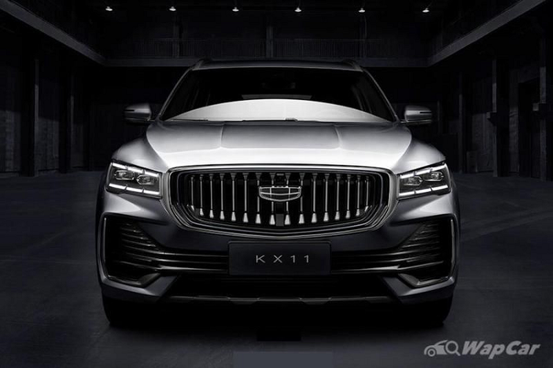 """SUV Trung Quoc Geely KX11 lo dien, """"hao hao"""" xe sang Volvo XC90"""