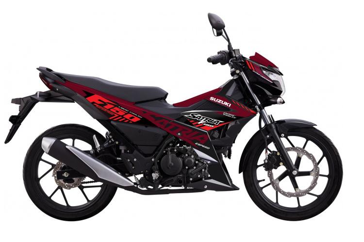 Ra mat Suzuki Satria F150 2021 tu 52 trieu tai Viet Nam