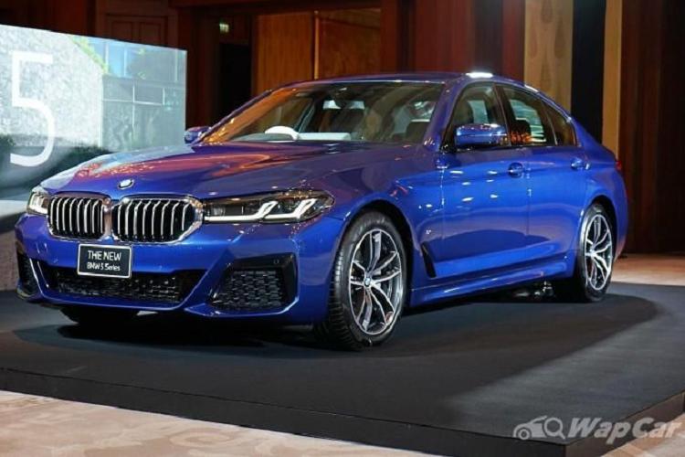 Chi tiet BMW 5 Series 2021 lap rap Thai Lan, tu 2,3 ty dong